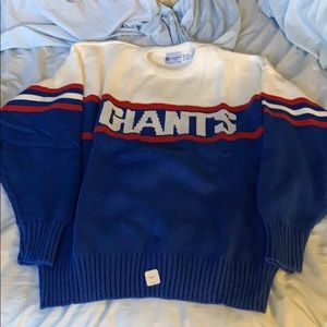 NWT New York Giants Cliff Engle Sweater